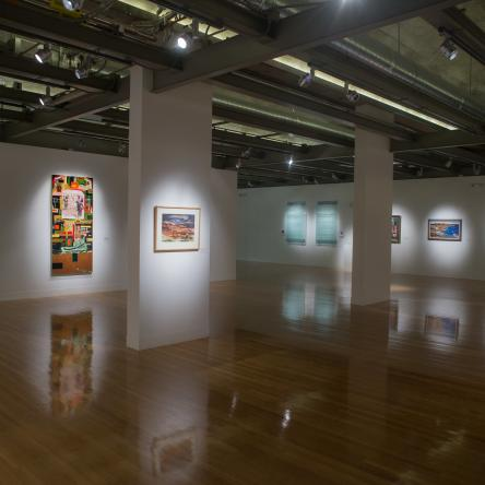 artworks from the Christian-Green collection, Visual Arts Center, UT Austin