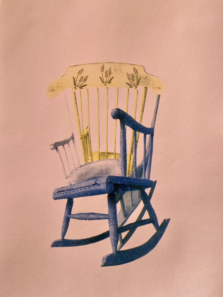 artwork by Abby Johnson, Visual Arts Center, UT Austin