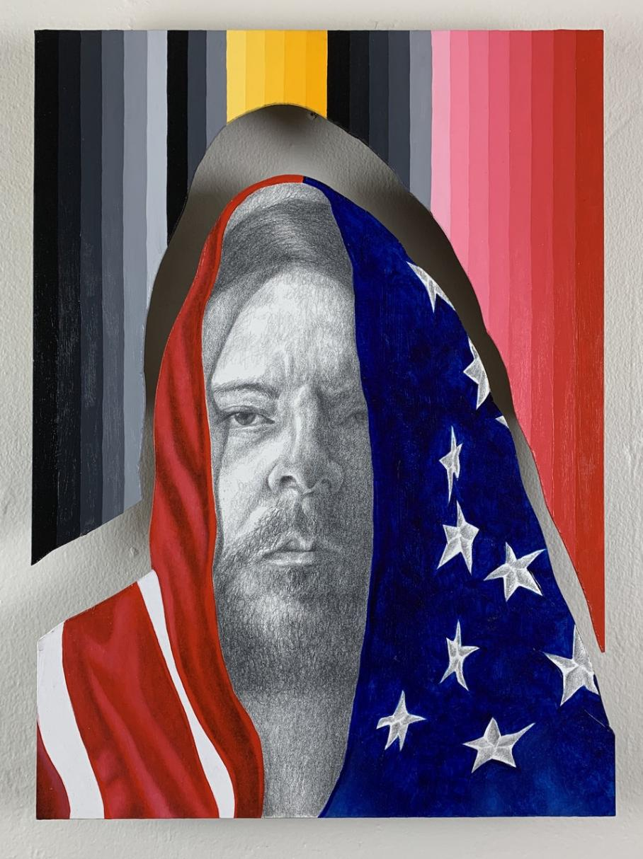 artwork by Alejandro Macias, Visual Arts Center, UT Austin