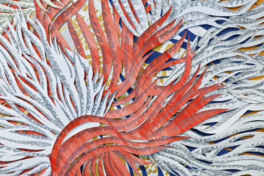 work by Natasha Bowdoin, Visual Arts Center, UT Austin