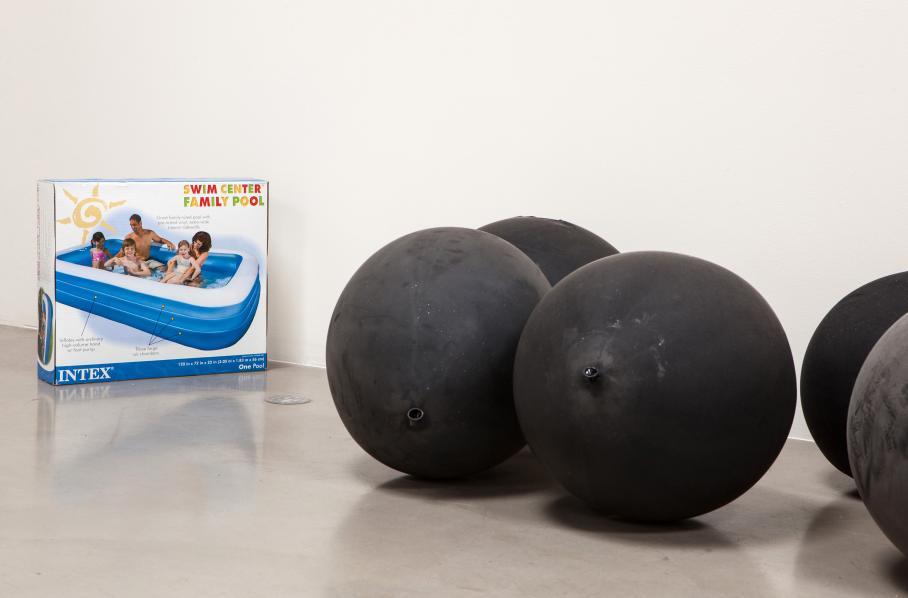 artwork by Michael Queenland, Santa Monica Museum of Art, 2012