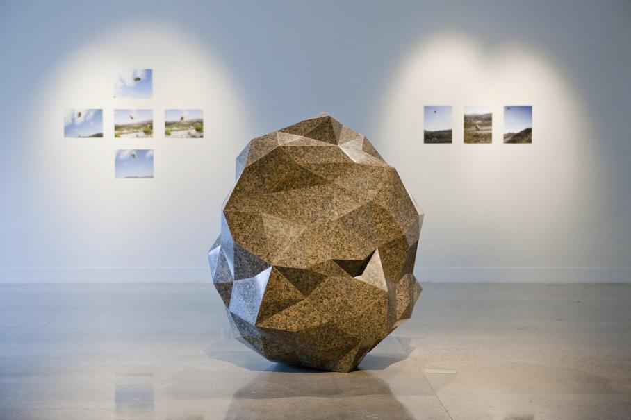 installation at Visual Arts Center, UT Austin