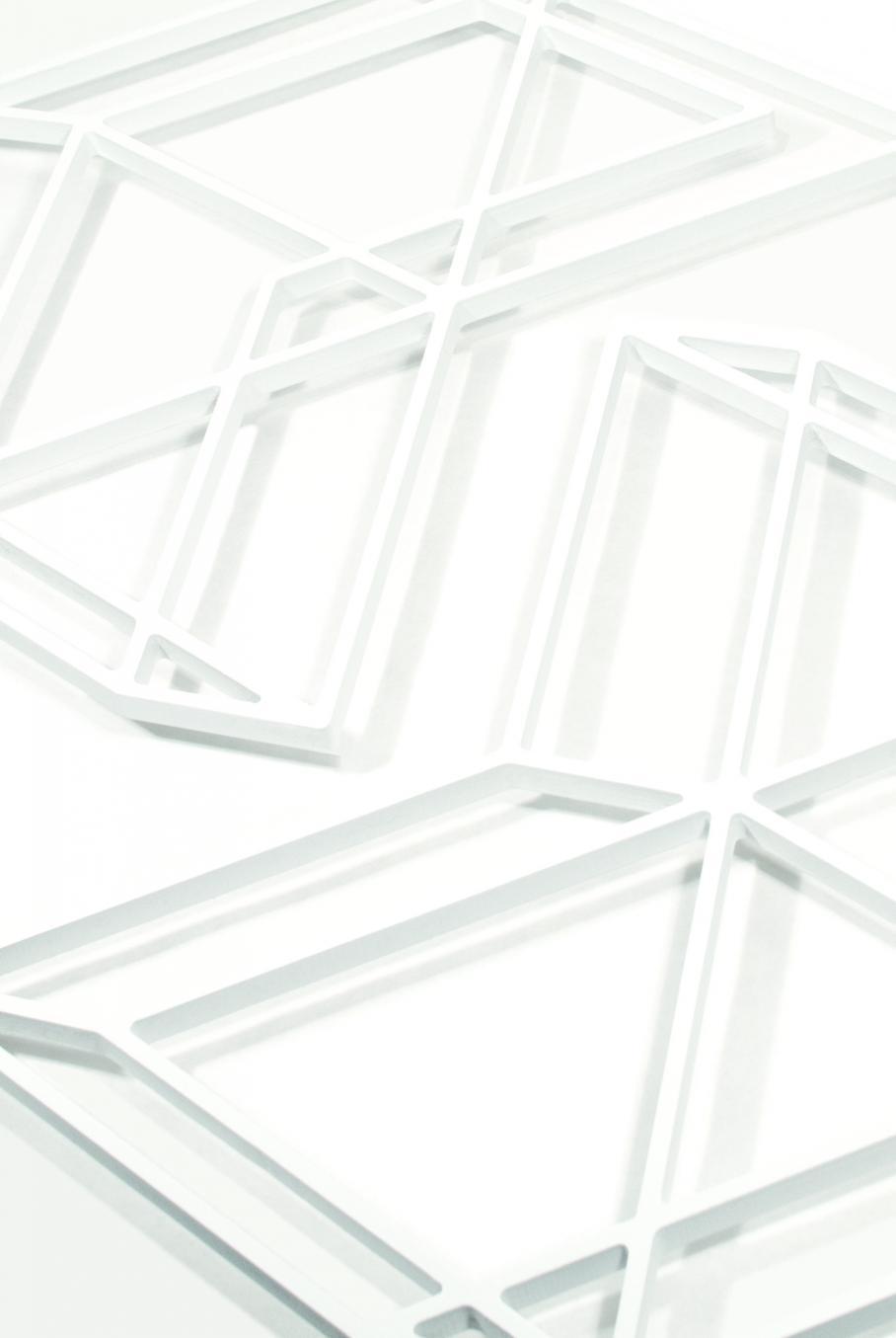 graphic for Design BFA exhibition, Visual Arts Center, UT Austin
