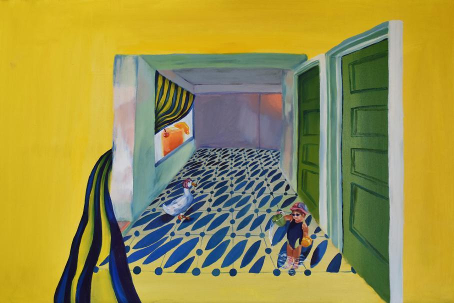 artwork by Kaelyn Huang, Visual Arts Center, UT Austin
