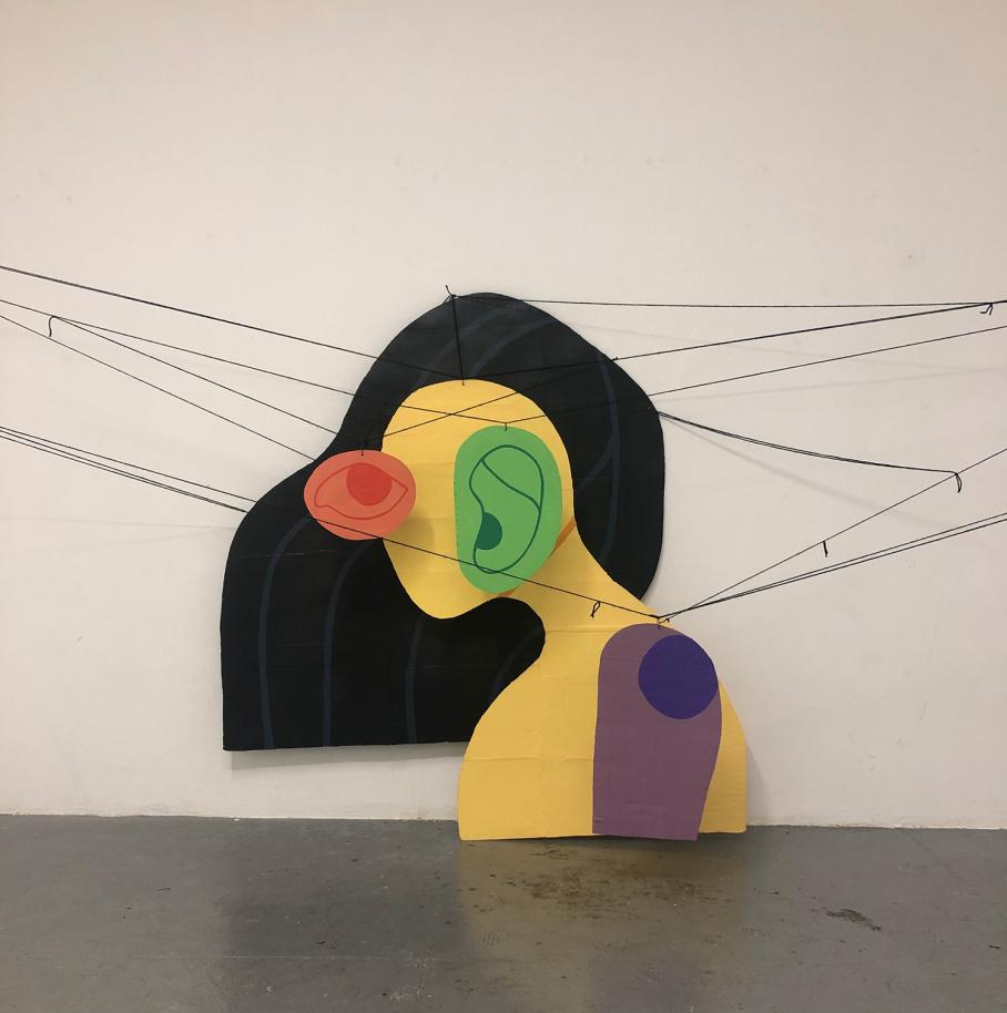 artwork by Madison Boothe, Visual Arts Center, UT Austin