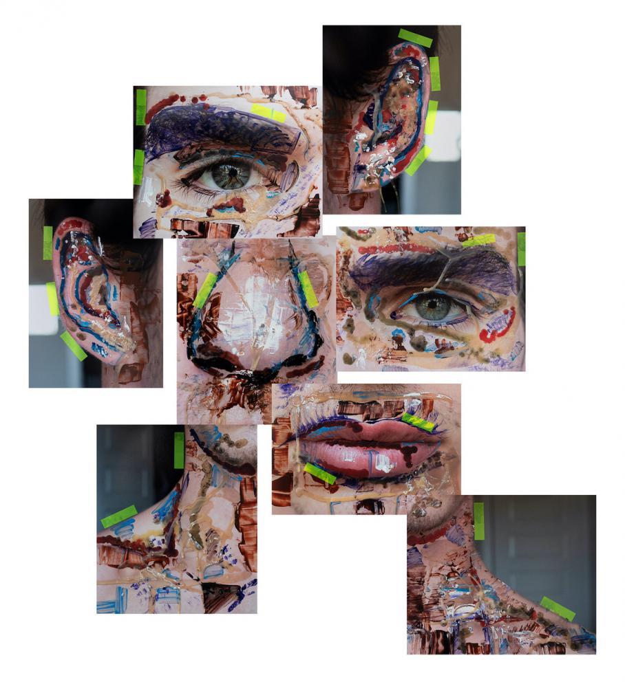 artwork by Jacob Cornish, Visual Arts Center, UT Austin