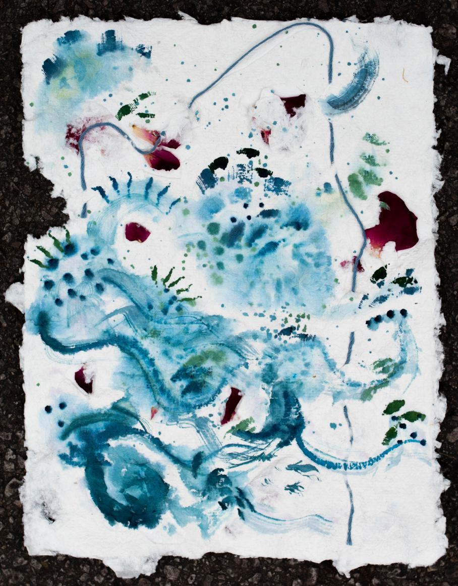 artwork by Abigail Horne, Visual Arts Center, UT Austin