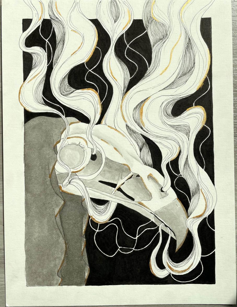 artwork by Victoria Williams, Visual Arts Center, UT Austin