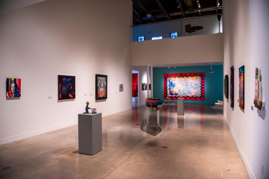 'Between Two Worlds' exhibition at Visual Arts Center, UT Austin