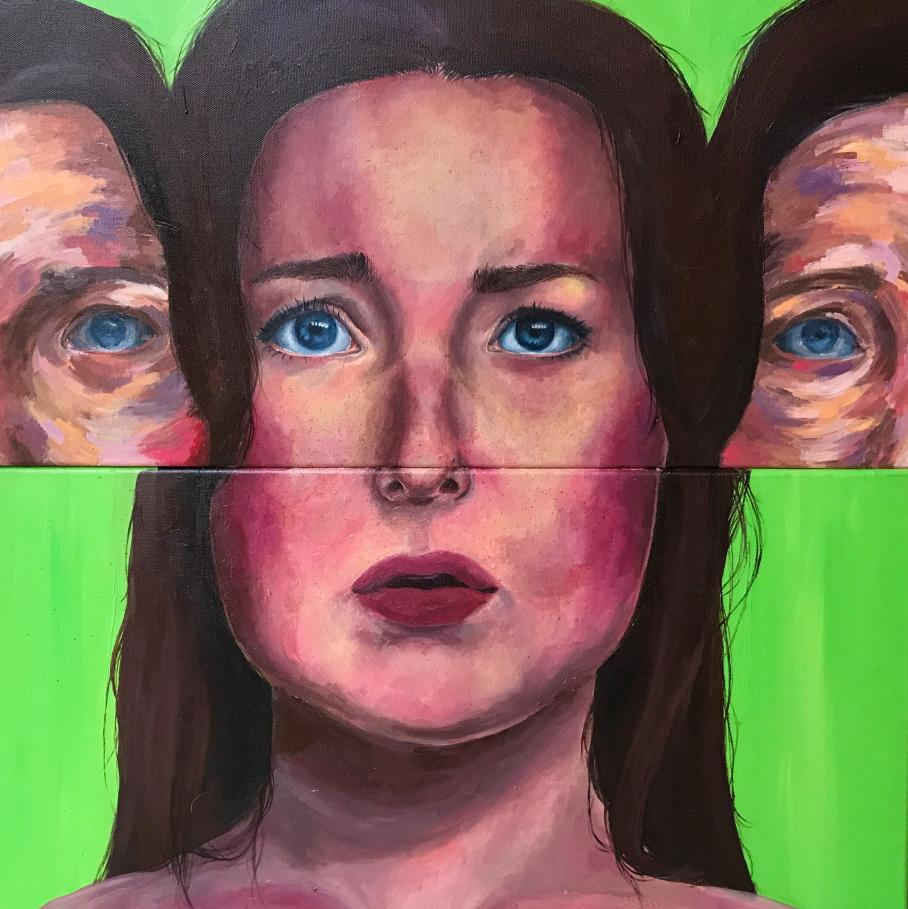 artwork by Audrey Jennings, Visual Arts Center, UT Austin