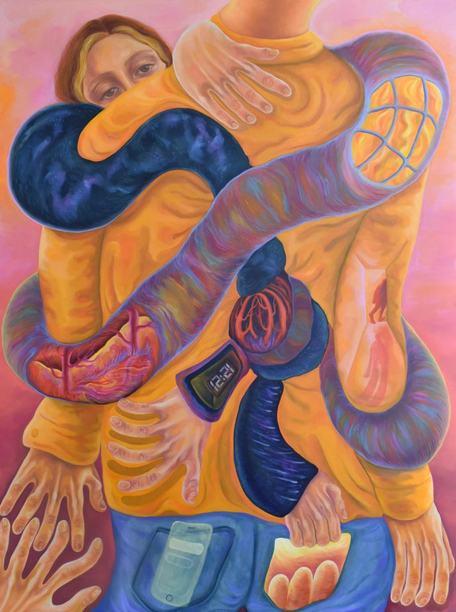 artwork by Madeleine Jones, Visual Arts Center, UT Austin