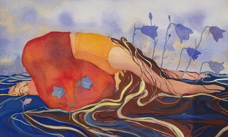 artwork by Anna Maupin, Visual Arts Center, UT Austin