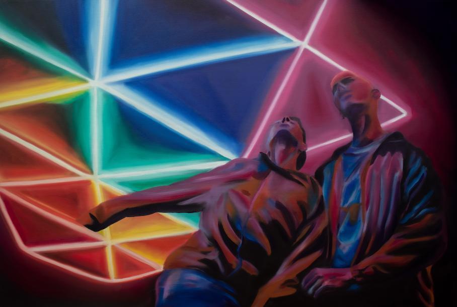 artwork by Jacob Mendez, Visual Arts Center, UT Austin