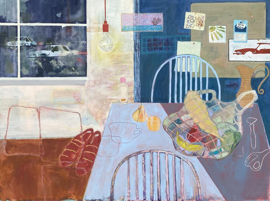 artwork by Sarah Stellman, Visual Arts Center, UT Austin