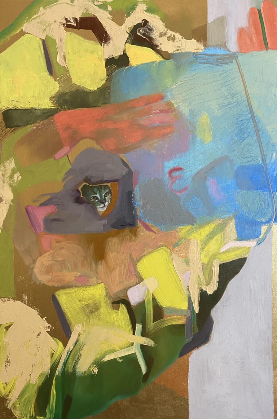artwork by Yiming Sun, Visual Arts Center, UT Austin