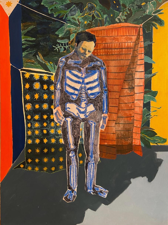 artwork by Nicholas Wong, Visual Arts Center, UT Austin