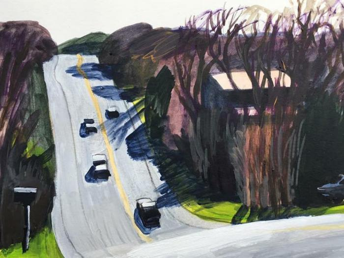 work by New Barbizon painters