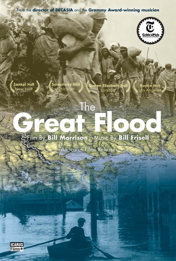 film poster for Bill Morrison's 'The Great Flood'