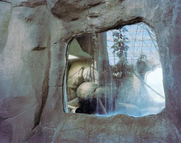 Brooke Johnson, Visual Arts Center, photo of zoo habitat