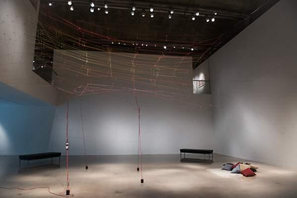 work by Victor Perez-Rul, Visual Arts Center, UT Austin