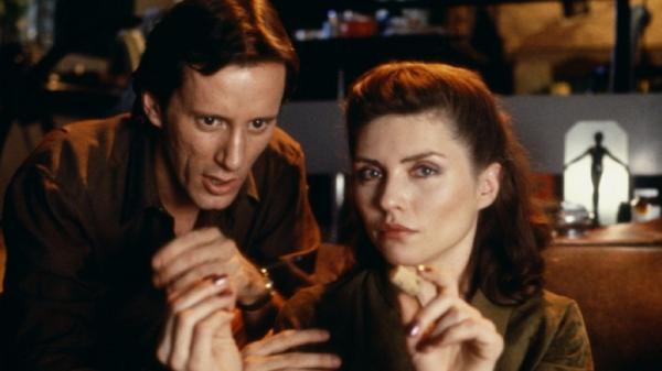 still from Videodrome (1983)